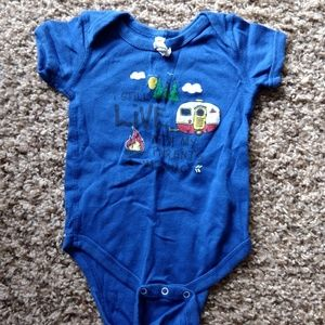 """Other - """"I Still Live With My Parents >Mackinac<"""" Onesie"""